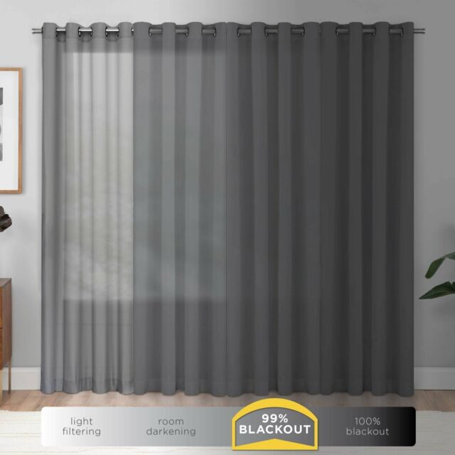 Popular Photo of Eclipse Darrell Thermaweave Blackout Window Curtain Panels