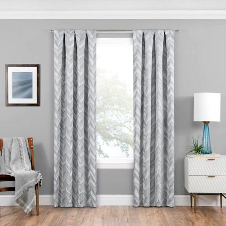 Eclipse Haley Blackout Window Curtain – Walmart | Living With Regard To Eclipse Caprese Thermalayer Blackout Window Curtains (View 15 of 30)