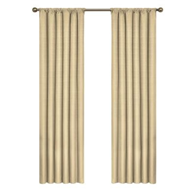Eclipse Kendall Blackout Window Curtain Panel In Lime – 42 Within Thermaback Blackout Window Curtains (#16 of 36)