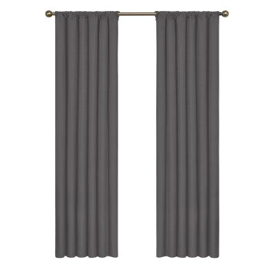 Eclipse Kendall Blackout Window Curtain Panel In Slate – 42 With Eclipse Kendall Blackout Window Curtain Panels (#11 of 19)