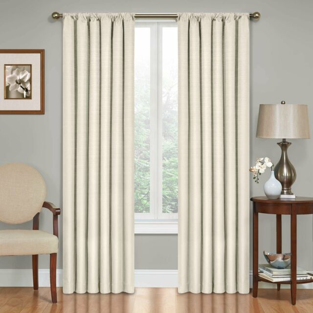 Eclipse Kendall Blackout Window Curtain Panel Intended For Thermaback Blackout Window Curtains (#17 of 36)
