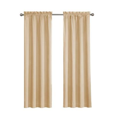 Popular Photo of Meridian Blackout Window Curtain Panels