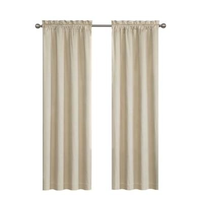 Eclipse Meridian Blackout Window Curtain Panel In Linen – 42 Regarding Meridian Blackout Window Curtain Panels (#22 of 50)