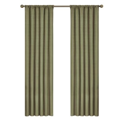 Eclipse Meridian Blackout Window Curtain Panel In River Blue With Regard To Meridian Blackout Window Curtain Panels (#23 of 50)
