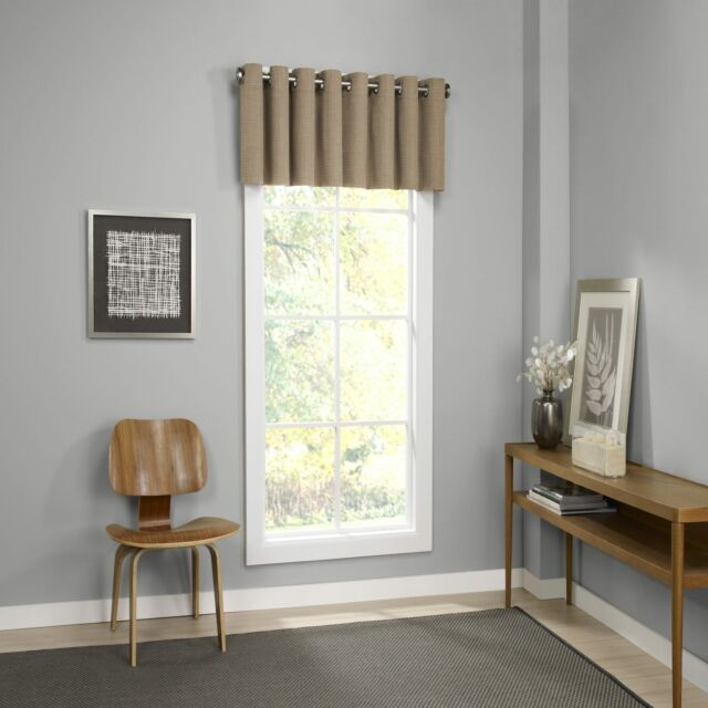 Eclipse Palisade Blackout Grommet Window Valance – 52X18 For Eclipse Trevi Blackout Grommet Window Curtain Panels (View 10 of 26)