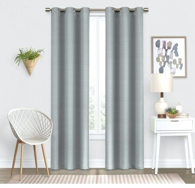 Eclipse Round Round Thermaweave Blackout Curtain In Eclipse Darrell Thermaweave Blackout Window Curtain Panels (#24 of 50)
