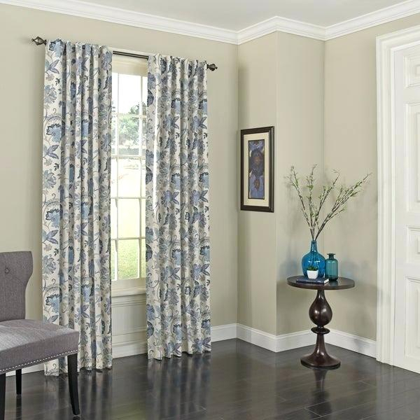 Eclipse Round Round Thermaweave Blackout Curtain In Eclipse Darrell Thermaweave Blackout Window Curtain Panels (#25 of 50)