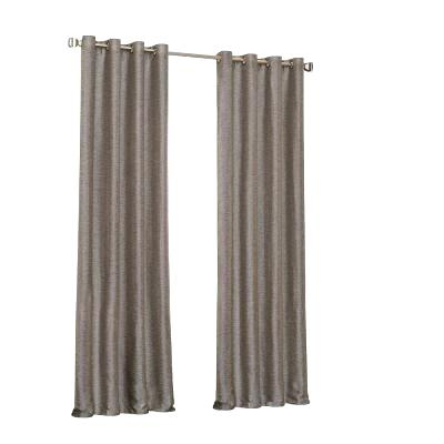Eclipse Round Round Thermaweave Blackout Curtain Throughout Eclipse Darrell Thermaweave Blackout Window Curtain Panels (#26 of 50)
