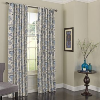 Eclipse Thermalayer Blackout 1 Panel Nina Window Curtain In Eclipse Caprese Thermalayer Blackout Window Curtains (View 20 of 30)