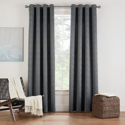 Eclipse Twilight Luna 108 Inch Grommet Room Darkening Window For Duran Thermal Insulated Blackout Grommet Curtain Panels (#13 of 29)