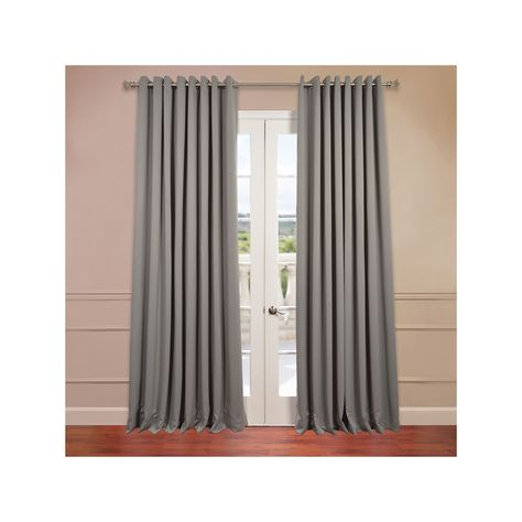 Eff Blackout 1 Panel Grommet Doublewide Window Curtain For Eclipse Corinne Thermaback Curtain Panels (View 23 of 29)