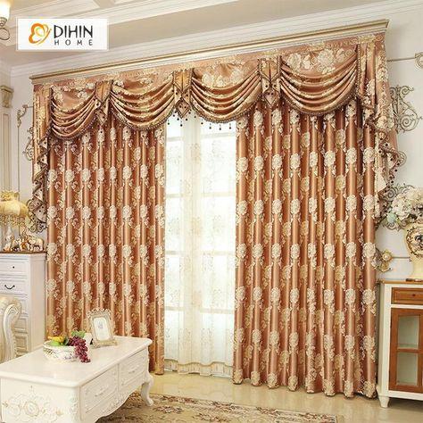 Elegant Comfort Luxury Penelopie Jacquard 84 Inch Length Pertaining To Elegant Comfort Luxury Penelopie Jacquard Window Curtain Panel Pairs (View 17 of 50)