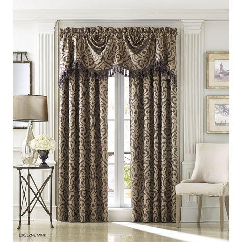 Elegant Comfort Luxury Penelopie Jacquard 84 Inch Length Regarding Elegant Comfort Luxury Penelopie Jacquard Window Curtain Panel Pairs (View 18 of 50)