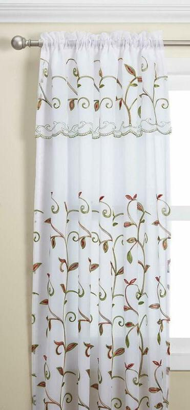 Elegant Comfort Window Curtains | Window Curtains Intended For Elegant Comfort Luxury Penelopie Jacquard Window Curtain Panel Pairs (View 22 of 50)