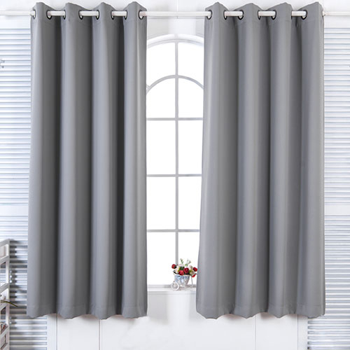 Popular Photo of Solid Insulated Thermal Blackout Long Length Curtain Panel Pairs
