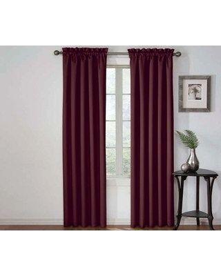 Elegant Plum Blackout Curtains – Adaziaire (#37 of 50)