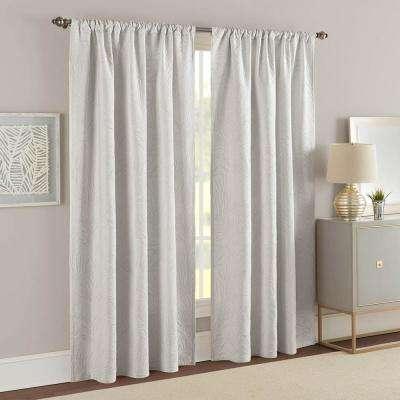 Ella Window Panel Pair Gray Regarding Ella Window Curtain Panels (View 21 of 50)