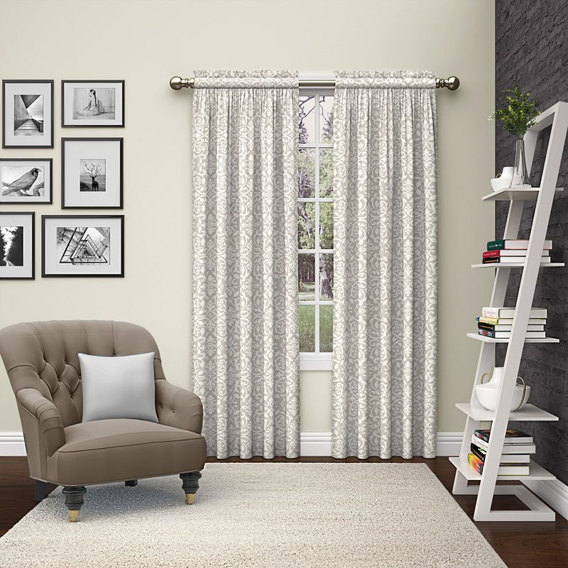 Ellery Homestyles Pinkney Light Filtering Rod Pocket Curtain For Sugar Creek Grommet Top Loha Linen Window Curtain Panel Pairs (View 45 of 50)
