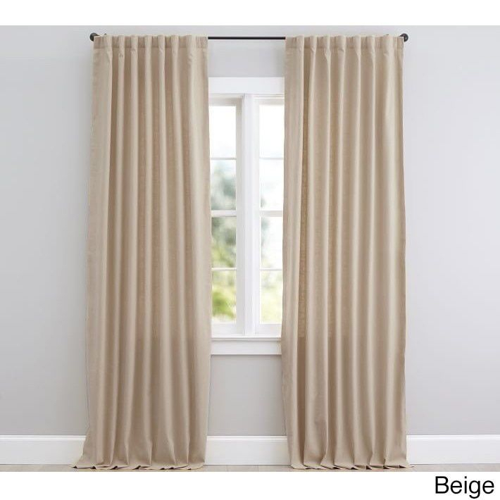 Ellington Thermal Blackout Window Curtain Backtab/rod Pocket Intended For Thermal Rod Pocket Blackout Curtain Panel Pairs (#22 of 50)