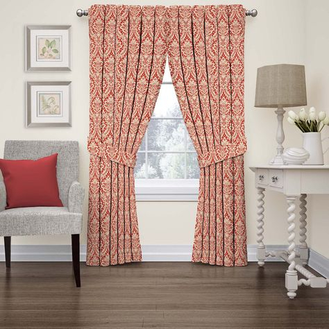 Ellis Curtain Victoria Park Tailored Curtain Panel With Ties Regarding Grainger Buffalo Check Blackout Window Curtains (View 16 of 50)
