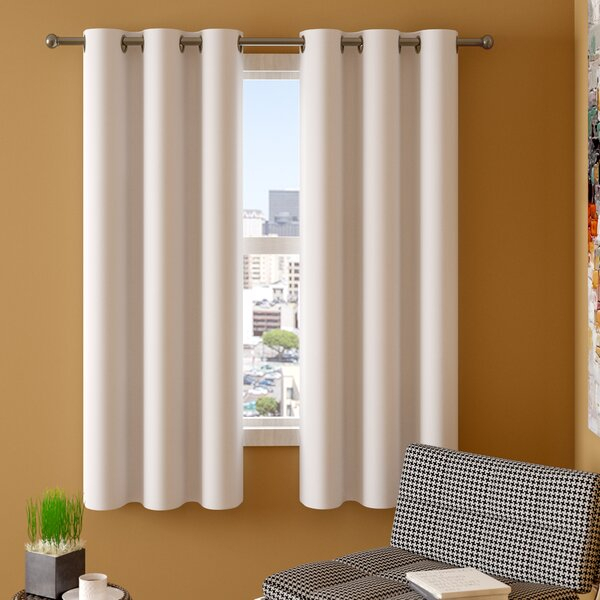 Ellis Curtains | Wayfair With Davis Patio Grommet Top Single Curtain Panels (View 26 of 39)