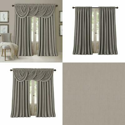 Elrene All Seasons Blackout Curtain Panel – $ (View 8 of 48)