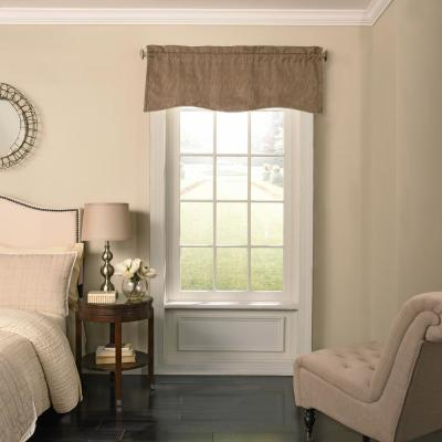 Elrene All Seasons Waterfall Window Valance 026865854268 Within All Seasons Blackout Window Curtains (View 22 of 48)