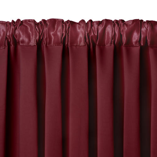 Elrene Home Fashions All Seasons Blackout Rod Pocket Curtain Inside All Seasons Blackout Window Curtains (View 4 of 48)