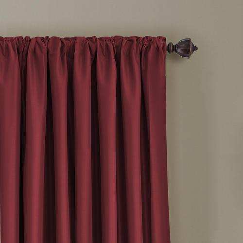 Elrene Home Fashions All Seasons Blackout Rod Pocket Curtain Regarding All Seasons Blackout Window Curtains (View 3 of 48)