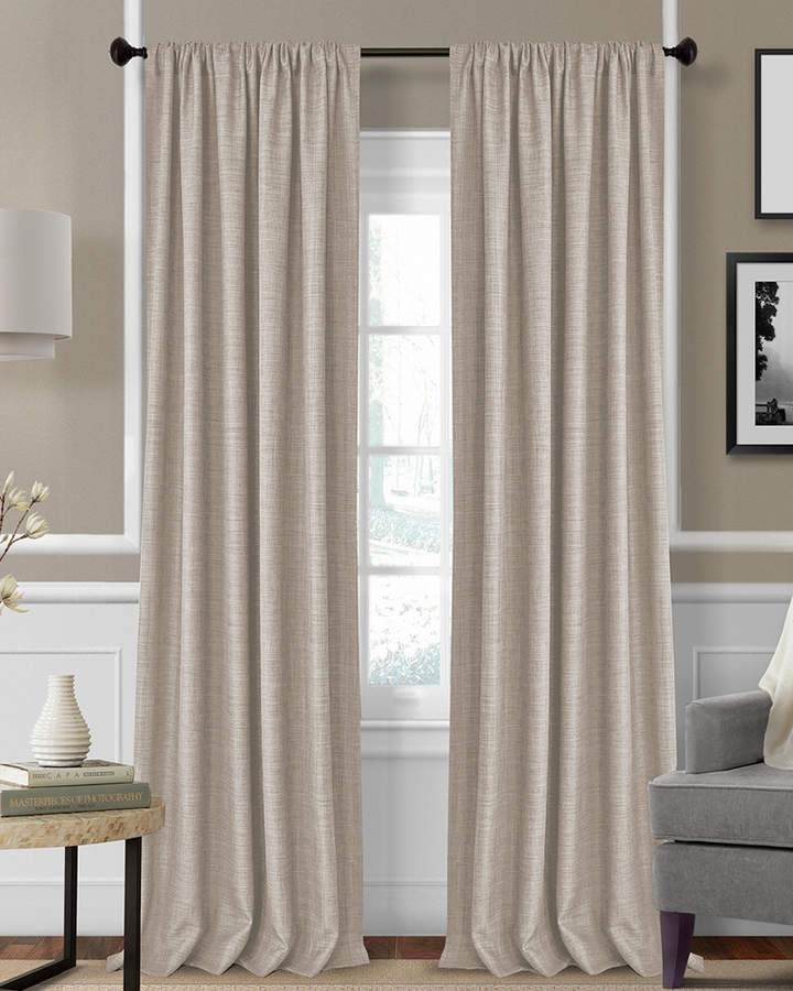 Elrene Home & Living – Shopstyle In Kaiden Geometric Room Darkening Window Curtains (#13 of 39)