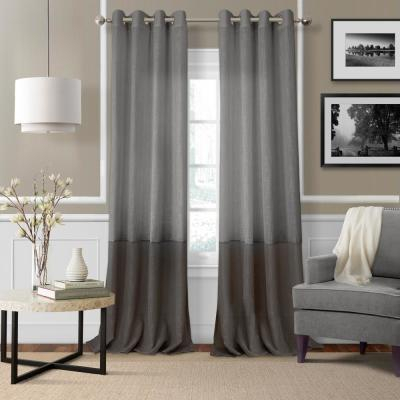 Elrene Jolie Semi Sheer Tab Top Window Curtain 21191Wht For Elrene Jolie Tie Top Curtain Panels (#12 of 35)