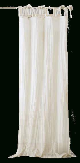 Elrene Jolie Tie Top Curtain Panelelrene – White Pertaining To Elrene Jolie Tie Top Curtain Panels (#13 of 35)