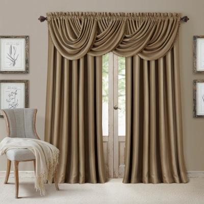 Popular Photo of Elrene Mia Jacquard Blackout Curtain Panels