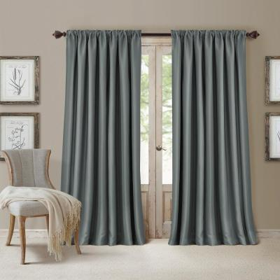 Popular Photo of Elrene Versailles Pleated Blackout Curtain Panels