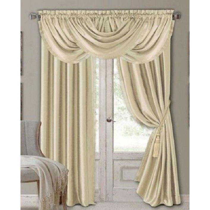 Elrene Versailles One Rod Pocket Panel 52 In 2019 | House Intended For Elrene Versailles Pleated Blackout Curtain Panels (View 26 of 38)