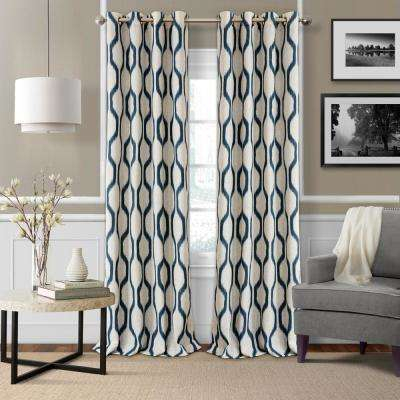 Elrene – Window Treatments – The Home Depot Pertaining To Elrene Mia Jacquard Blackout Curtain Panels (View 15 of 37)
