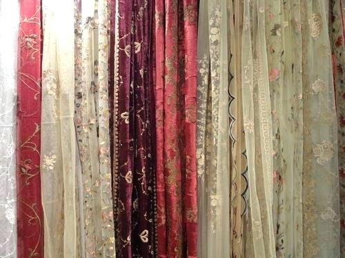 Embroidered Curtain Panels – Altecawoods (View 37 of 50)