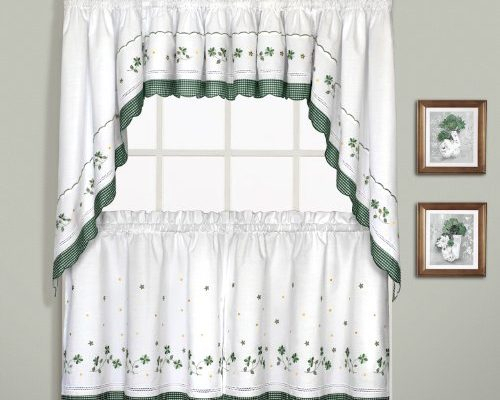 Embroidered | Draperies & Curtains For Overseas Leaf Swirl Embroidered Curtain Panel Pairs (View 12 of 50)