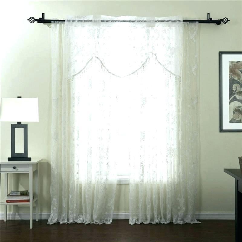 Embroidered Sheer Curtain Panels – Honestaerosol (#16 of 50)