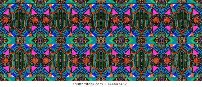 Embroidery Curtains Images, Stock Photos & Vectors For Lambrequin Boho Paisley Cotton Curtain Panels (#18 of 41)