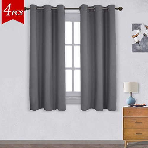 Emolli Faux Silk Curtain Panels,noise Reducing Thermal With Regard To Raw Silk Thermal Insulated Grommet Top Curtain Panel Pairs (#17 of 46)