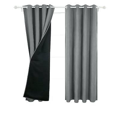 Energy Efficient Blackout Curtains – Clevergroup (View 3 of 31)