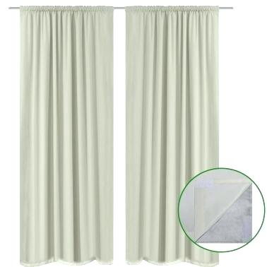 Energy Efficient Blackout Curtains – Clevergroup (View 8 of 31)
