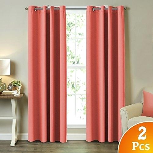 Energy Efficient Curtains Blackout Window Curtain Panel Regarding Cooper Textured Thermal Insulated Grommet Curtain Panels (View 17 of 50)