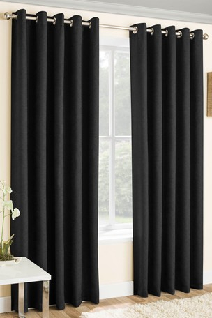 Enhanced Living Lined Thermal/blackout Curtains Within Embossed Thermal Weaved Blackout Grommet Drapery Curtains (View 18 of 42)