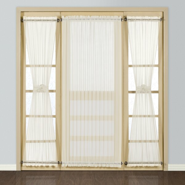Entry Door Curtains | Wayfair Pertaining To Keyes Blackout Single Curtain Panels (View 34 of 50)