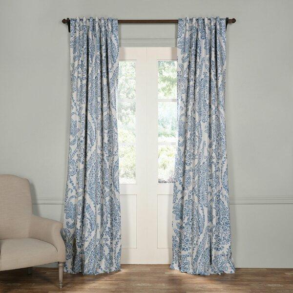 Envogue Paisley Curtain Panels | Wayfair (#20 of 41)