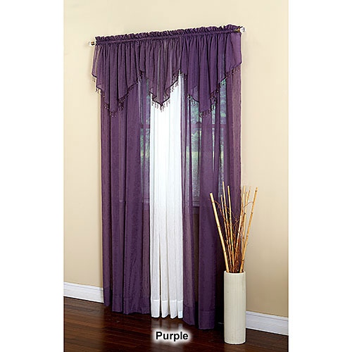 Erica Crushed Voile Curtain Panel Intended For Erica Crushed Sheer Voile Grommet Curtain Panels (#24 of 50)