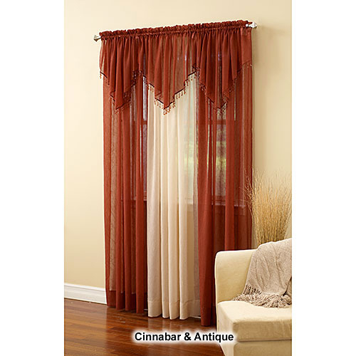 Erica Crushed Voile Curtain Panel With Erica Sheer Crushed Voile Single Curtain Panels (#25 of 41)