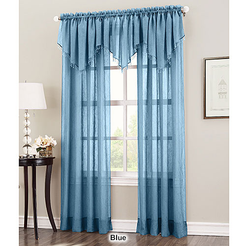 Erica Crushed Voile Curtain Panel With Regard To Erica Sheer Crushed Voile Single Curtain Panels (#26 of 41)